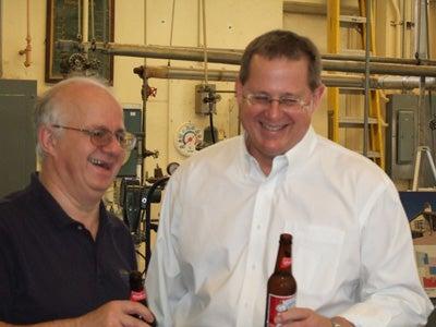 Charlie Bamforth and Doug Muhleman